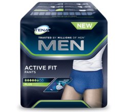 Tena Men Active Fit Pants Talla L 10 Ud