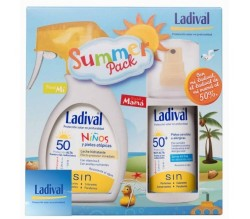 LADIVAL SUMMER PACK FAMILIAR