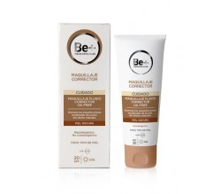 BE+ MAQUILLAJE FLUIDO CORRECTOR OIL-FREE SPF20 PIEL OSCURA 40ML